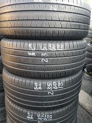 235/60-18 #4 tires for Sale in Alexandria, VA