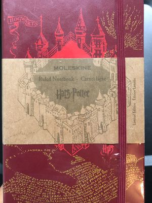 Moleskine Limited Edition Harry Potter Notebook for Sale in Norfolk, VA