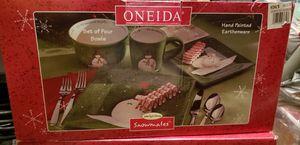 Christmas dinner set for Sale in Alexandria, VA