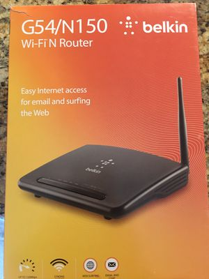 Belkin Wireless Router for Sale in Saint Charles, MO