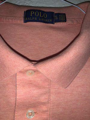 Polo Ralph Lauren orange shirt for Sale in Ontario, CA