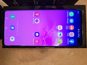 Samsung Galaxy S10+ and wireless charging stand! for Sale in Phoenix, AZ
