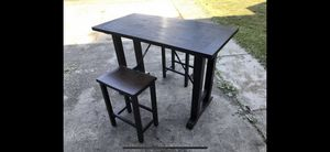 Kitchen Table Set (Arnt Tolix Style) for Sale in Federal Way, WA