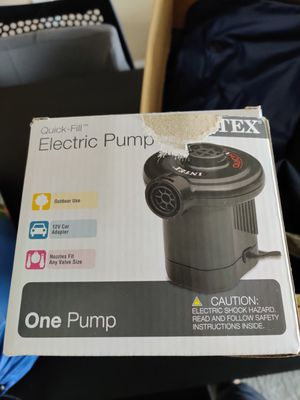 Electric pump for Sale in Columbus, OH