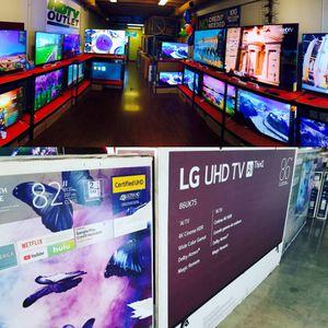 SAMSUNG LG SONY !!! SMART 4K TV QLED for Sale in Pasadena, CA