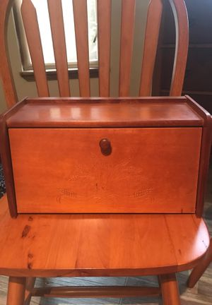Older Wooden Breadbox for Sale in Puyallup, WA