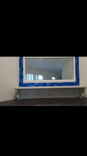 Mirror with hat/coat hanger for Sale in Auburndale, FL