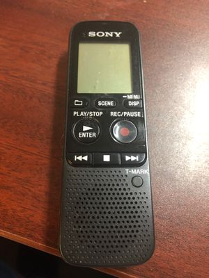 Sony Handheld Dictation for Sale in Affton, MO