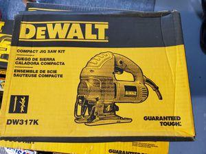 DEWALT 5.5-Amp Corded Jig Saw Kit for Sale in Burlington, NJ