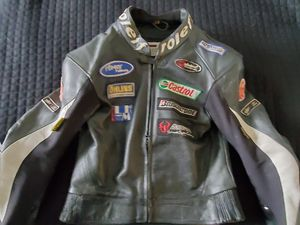 ROLEF leather motorcycle jacket Size 54( US 44) for Sale in League City, TX