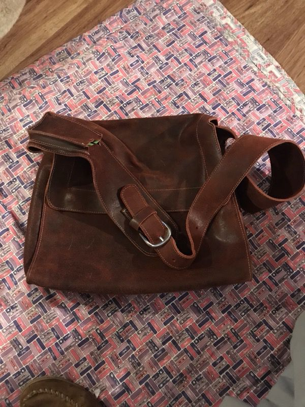 Top grain leather bags