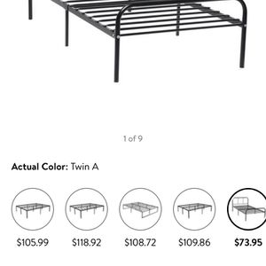 Twin And Full Size Bed Frame for Sale in Chesterfield, MO