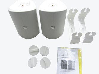 "Polk Audio - Patio 200 5"" 2-Way Indoor/Outdoor Loudspeakers (Pair) - White LN for Sale in City of Industry,  CA"