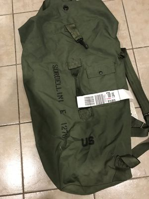 Army military bag or backpack for Sale in New Paltz, NY