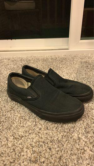 Vans black/black slip on for Sale in Laguna Hills, CA
