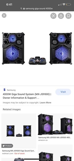 Samsung Giga sound system for Sale in Miami, FL