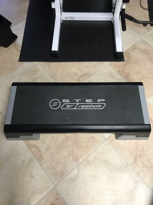 Reebok Step Aerobic Fitness Exercise Stepper Platform w/o Adjustable Height for Sale in NO POTOMAC, MD