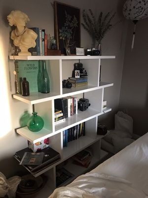 White book shelf for Sale in Florence, MT