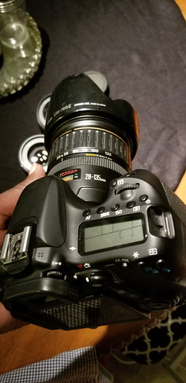 Canon 70d and 6 lenses