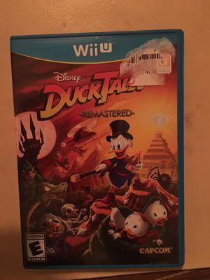 Nintendo Wii U Disney duck tales for Sale in Visalia, CA