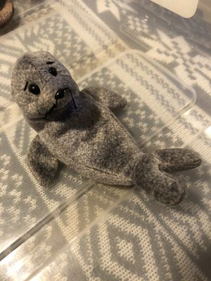 "TY Beanie Babies. ""Slippery"" the Grey Seal for Sale in Columbus, OH"