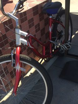 "Beautiful 26"" Red Beach Cruiser Ready For Adventures for Sale in Santa Ana,  CA"