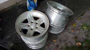 Stock 2005 Jeep Wrangler wheels FREE for Sale in Miami, FL