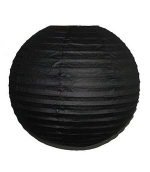 """Wholesale Lot 24 Pack - Party Paper Lantern-Round 12""""-Luau Supplies- Oriental/Chinese Lamps - Black for Sale in Kissimmee, FL"""