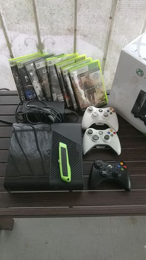 XBOX 360 - With 8 Games for Sale in Fresno, CA