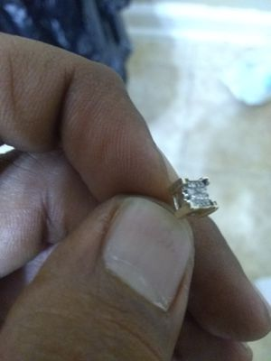 Two earing real gold and diamond for Sale in Lawrenceville, GA