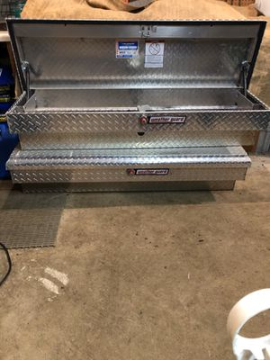 Aluminum side toolboxes by Weatherguard! for Sale in Crystal Lake, IL