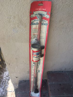 Johnson/Budweiser Fishing Rod and Reel for Sale in Fullerton, CA