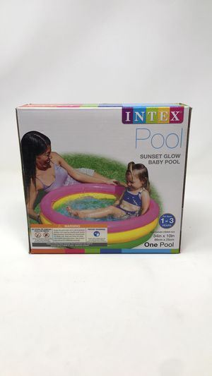 Intex Sunset Glow Inflatable Baby Pool for Sale in Denver, CO