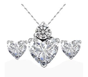 Brand new 18 k white gold necklace and earrings for Sale in Orlando, FL