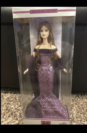 Brand new in Box Barbie Birthstone Collection February $30 Manalapan for Sale in Manalapan Township, NJ