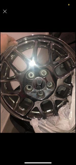 Never mounted or used 4 Honda/Acura Chrome rims for Sale in Crystal Lake, IL