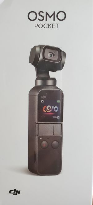 """New DJI Osmo Pocket - Handheld 3-Axis Gimbal Stabilizer with integrated Camera 12 MP 1/2.3"""" CMOS 4K Video for Sale in Davenport, FL"""