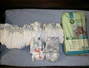 Newborn & Size 1 Diapers for Sale in Buckeye, AZ