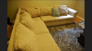 Beige Sectional Couch for Sale in Boston, MA