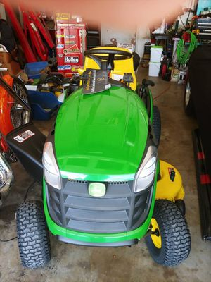 Brand New JOHN DEERE E100 Riding Lawn Mower for Sale in Wheat Ridge, CO