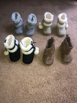 Baby boots for girl for Sale in Woodbridge, VA