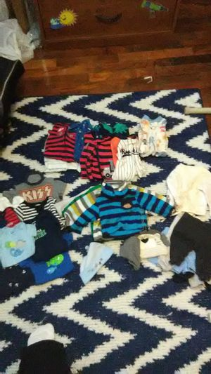 Baby clothes size new born, and baby Jordans size 1c for Sale in Greensboro, NC