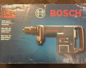 Bosch 14 Amp 1-9/16 in. Corded Variable Speed SDS-Max Demolition Hammer with Auxiliary Handle and Carrying Case for Sale in Lemont, IL