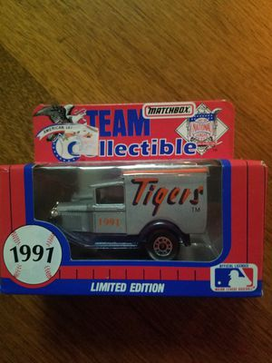 1991 Tigers Limited Edition Matchbox Team Collectibles for Sale in Newburgh, IN