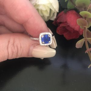Sapphire sterling silver size 5 ring for Sale in Denver, CO