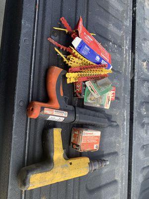 Ram set nail gun for Sale in Ripon, CA