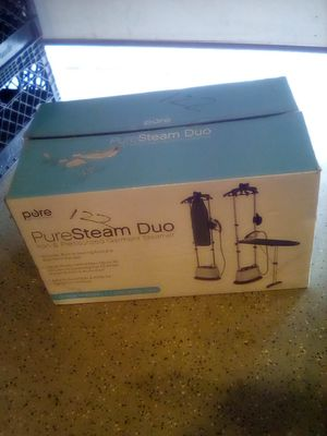 Pure Steam Duo Pressurized Iron & Steamer for Sale in Lake View Terrace, CA