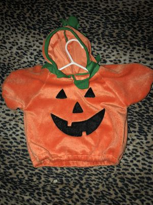 Pumpkin Costume (0-3 Months) for Sale in Reading, PA