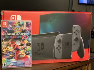 Nintendo Switch and Mario for Sale in Alexandria, VA