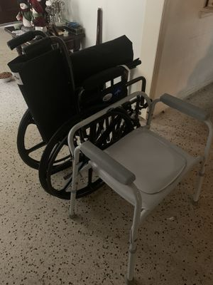 Invacare, medline never used for Sale in Coral Gables, FL